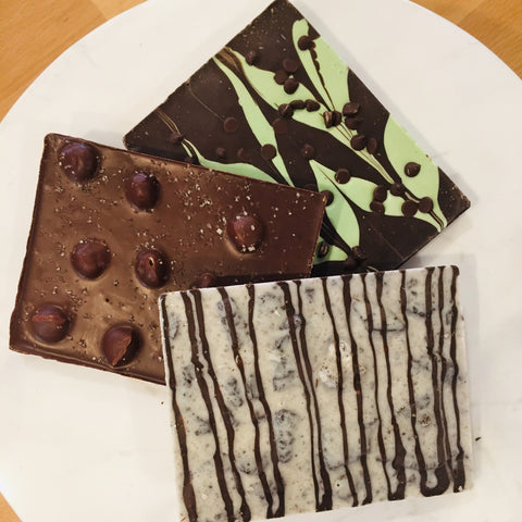 Chocolate Bark Bar Assortment (3 Bars)