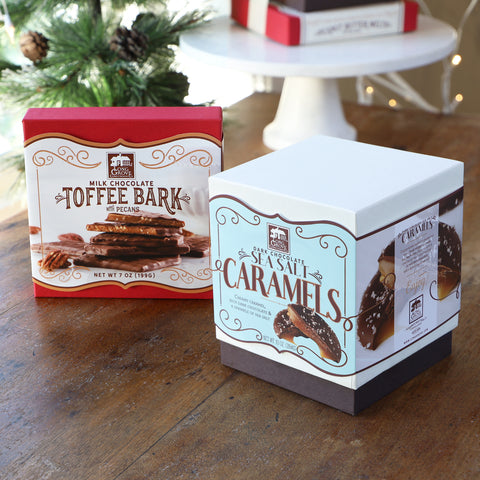 Classic Caramels + Toffee Bark