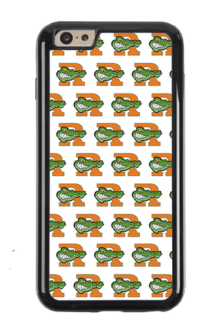 Gator Pattern White