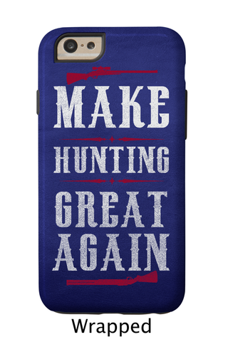 Make Hunting Great Again Blue
