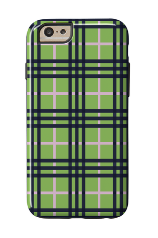 Plaid Green
