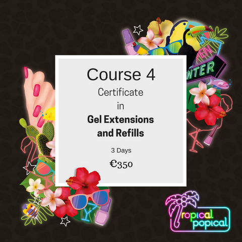 Certificate in Gel Extensions & Refills
