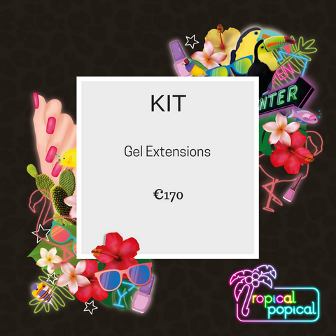 Kit for Gel Extensions Course