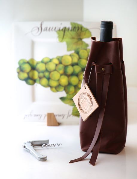 Noble Vine Collection™ Leather Bottle Sack