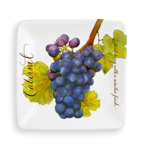 Wine Country™ Cocktail Plates [Set of 4]