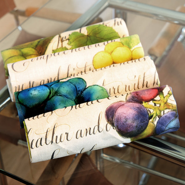 Wine Country™ Dinner Napkins [Set of 4]
