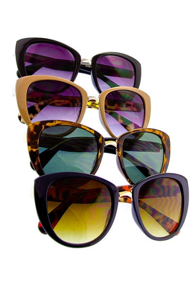retro inspired sunglasses