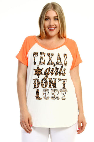 "Plus Size ""Stay Lovely"" Graphic Tee"