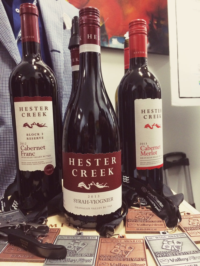 Hester Creek Winery Syrah Viognier