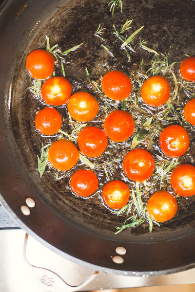 Tomatoes in Duck Fat with Tarragon