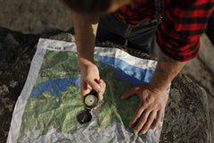 Custom silk topo map scarves Inspired by ww2 silk maps with compass