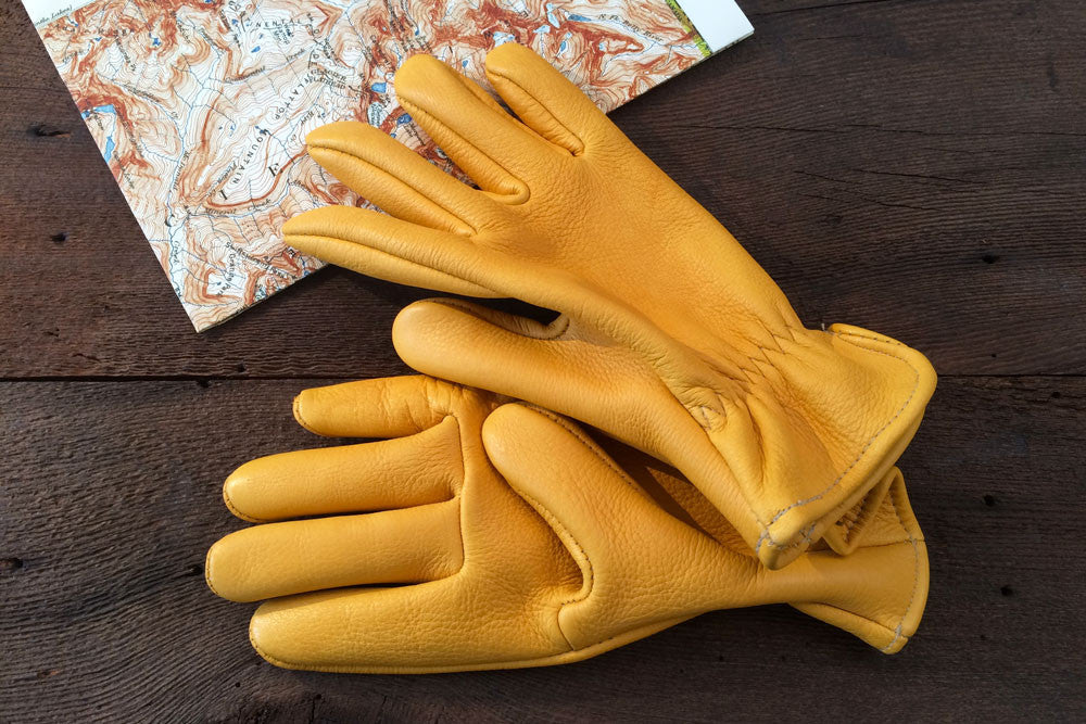 Elk Skin Gloves