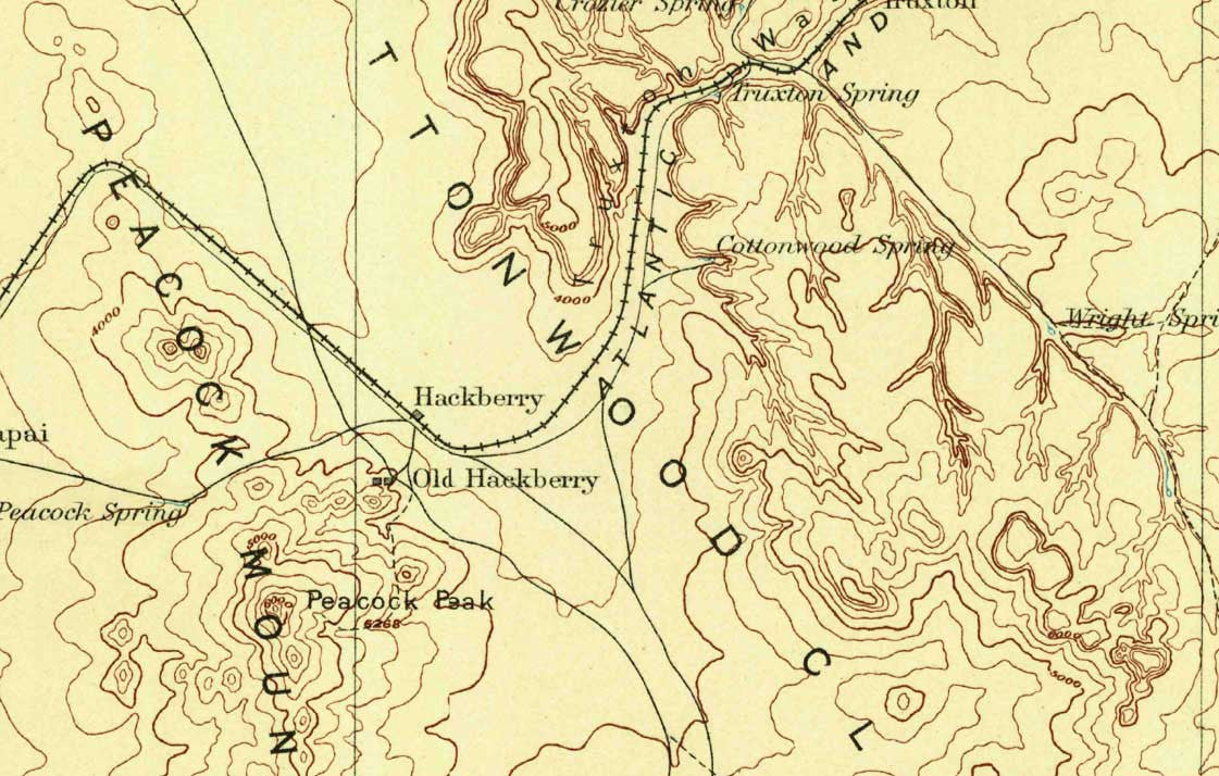 Historic U.S. Topo Maps of National Parks – Burnt Point Lodge