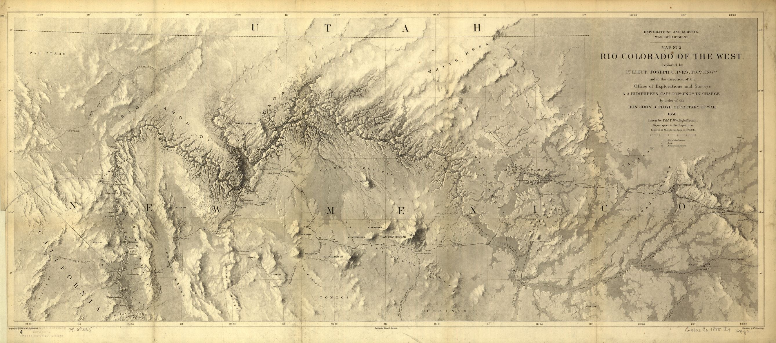 1858 Rio Colorado of the West