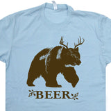 deer bear beer t shirt