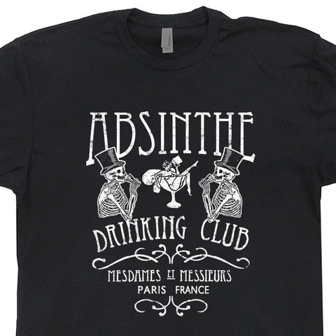 absinthe t shirt vintage beer t shirts