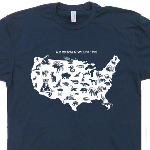 yellowstone park t shirt american wildlife
