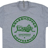 amsterdam marijuana cafe t shirt