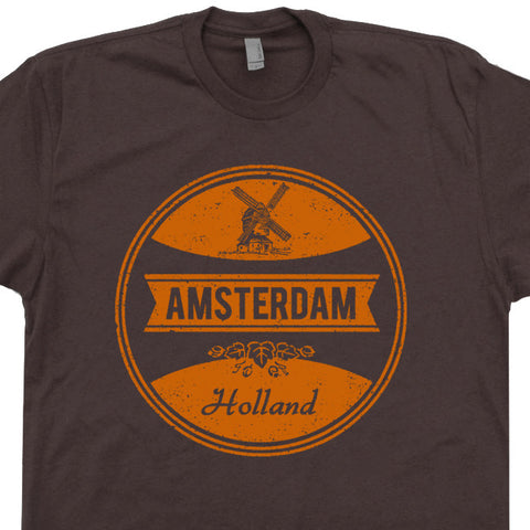 vintage amsterdam t shirt beer t shirt