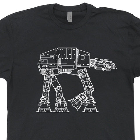 vintage star wars t shirt at-at t shirt