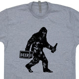 bigdrunk t shirt funny bigfoot t shirts