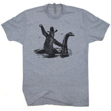 loch ness monster t shirt bigfoot t shirt