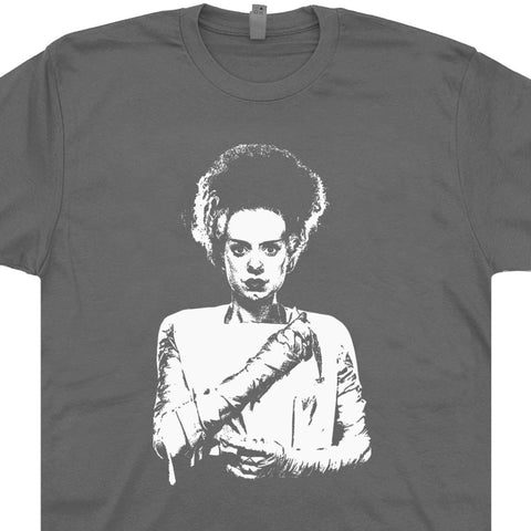 bride of frankenstein shirt vintage horror movie shirts