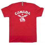 vintage canada t shirt cool moose t shirt
