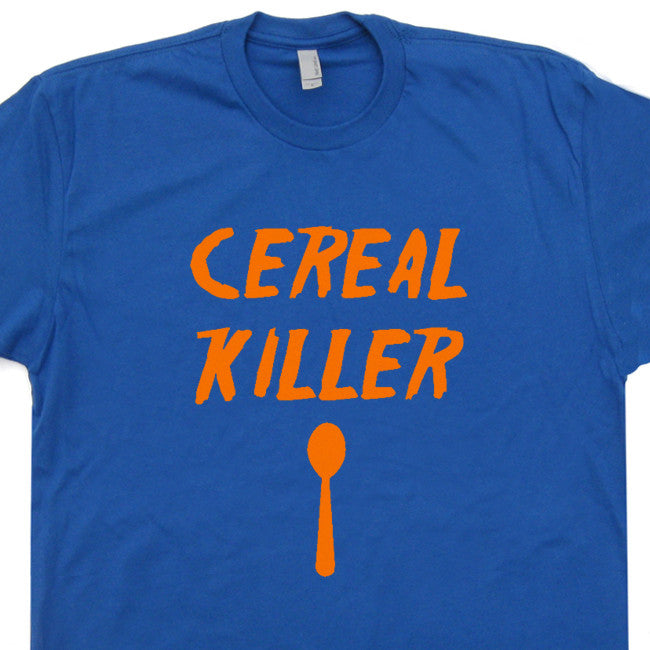 cereal killer t shirt vintage funny t shirts