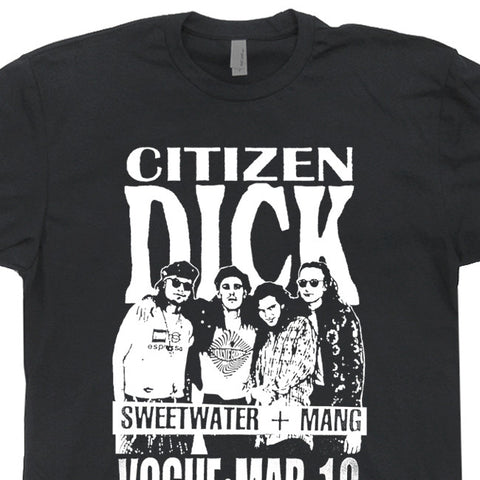citizen dick t shirt pearl jam t shirt