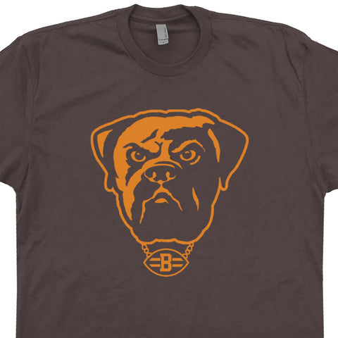 75a502fb Vintage Cleveland Brown Shirt Cleveland Browns Dawg Pound T Shirt Vintage  Logo Graphic Tee