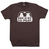 Funny Dog T Shirt Dog Is My Copilot T Shirt