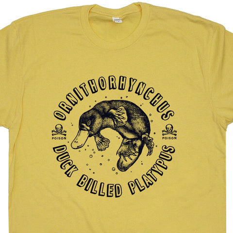 duck billed platypus t shirt