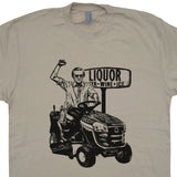 george jones t shirt george jones lawn mower liquor store