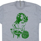 philadelphia eagles cheerleader t shirt