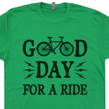 life is good bicycle t shirt