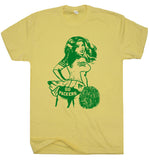 Vintage Green Bay Packers T Shirt Green Bay Packers Shirts Cheerleader Shirt Retro Packers