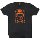 Vintage Harry Houdini t Shirt Magician t shirt