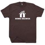 home brewer t shirt brewmaster t shirt beer t shirts