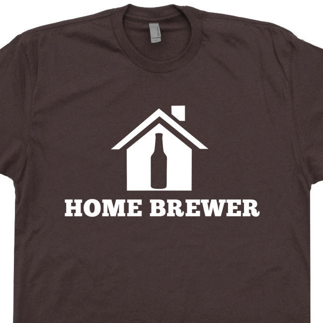 home brewer t shirt craft beer t shirt