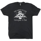 vintage hunter s thompson t shirt