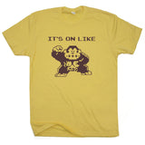 it's on like donkey kong t shirt funny gamer t shirt