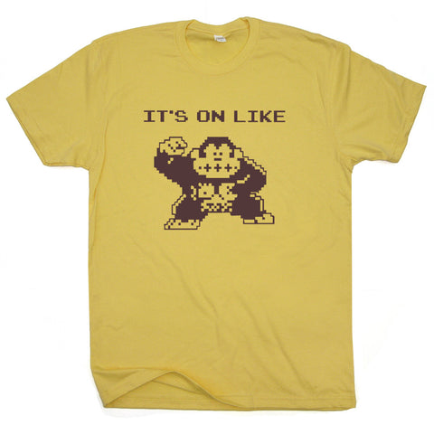 a3a3e6690 Donkey Kong Shirt | It's On Like Donkey Kong Shirt | Vintage Gaming ...