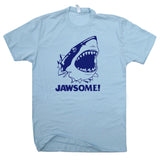 jawsome t shirt funny shark t shirt