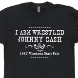 vintage johnny cash t shirt finger flip