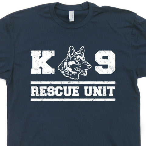 k9 rescue dog t shirt rescue unit t shirt
