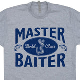 master baiter t shirt funny fishing t shirt