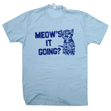 vintage cat t shirts meows it going t shirt