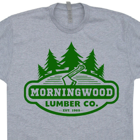 morning wood t shirt morning wood lumber t shirt