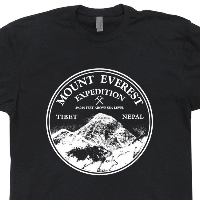 mount everest t shirt vintage mountain climbing t shirt